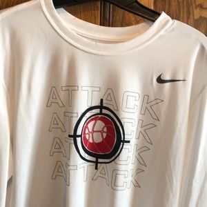 Large Nike Dri fit  shirt